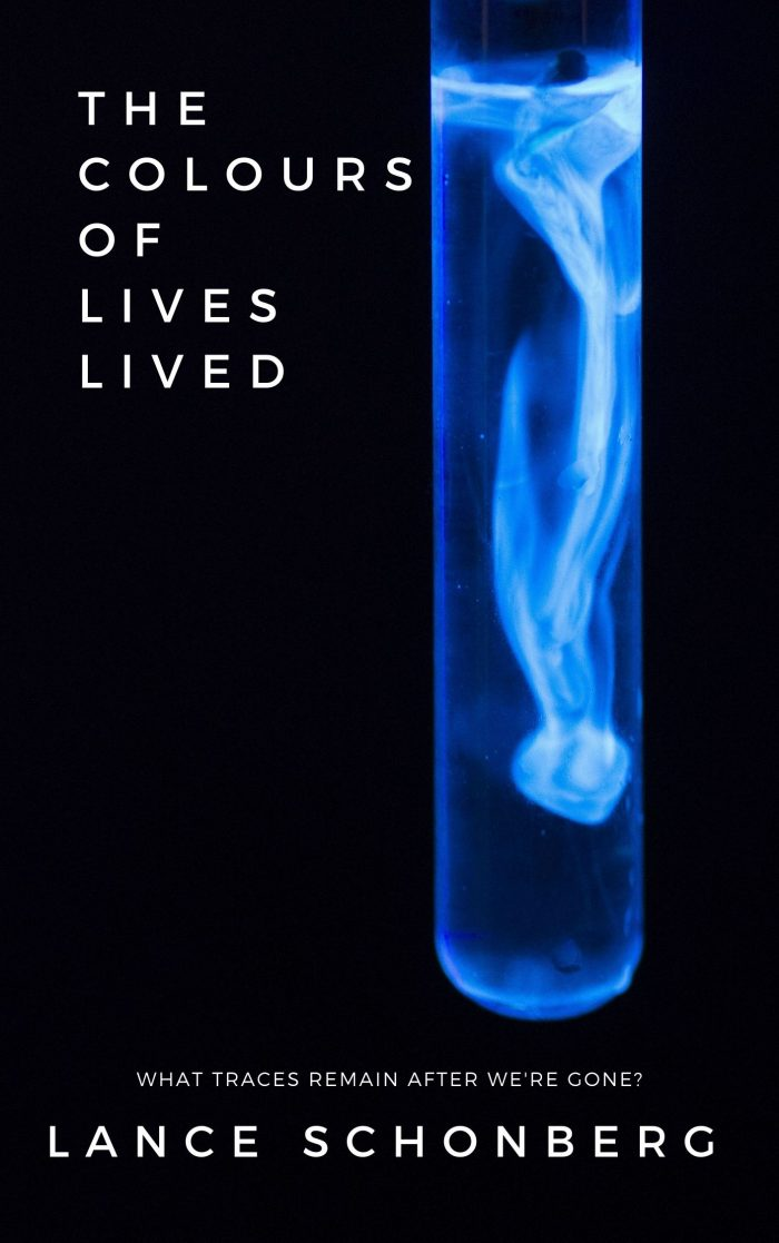 Book Cover: The Colours of Lives Lived